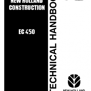 New Holland Ec450 Crawler Excavator Service Manual