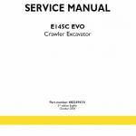 New Holland E145c Evo Excavator Service Manual