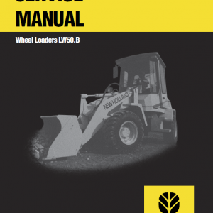 New Holland Lw50.b Wheel Loaders Service Manual