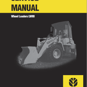 New Holland Lw80 Wheel Loaders Service Manual