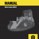 New Holland Lw80.b Wheel Loaders Service Manual