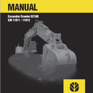 New Holland Ec160 Crawler Excavator Service Manual