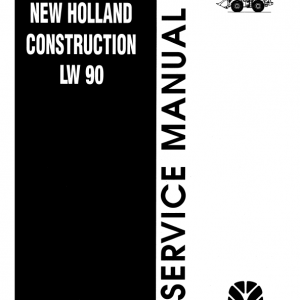 New Holland Lw90 Wheel Loader Service Manual