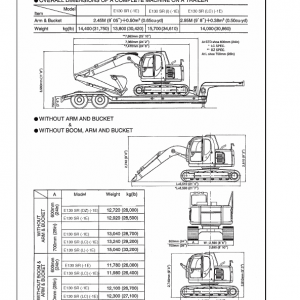 New Holland E130 Excavator Service Manual