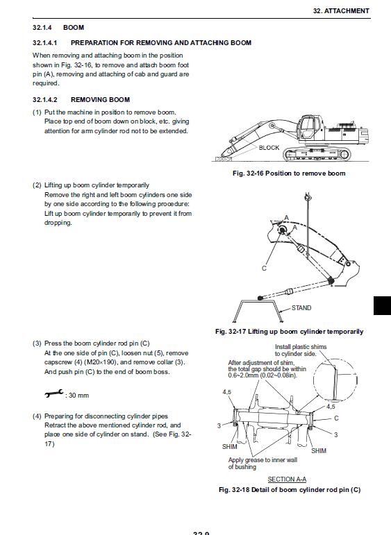 New Holland E385b, E385blc Excavator Service Manual