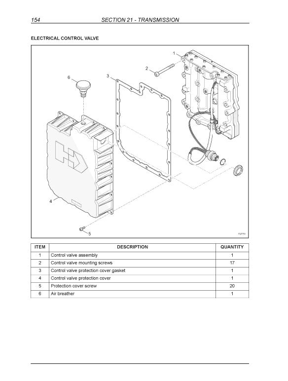 New Holland B95, B95 Tc, B95 Lr, B110, B115 Backhoe Loader Service Manual