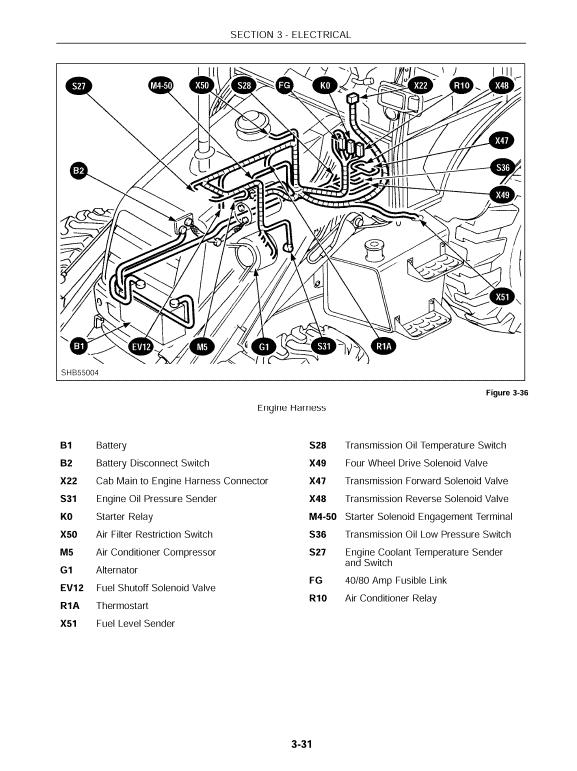 New Holland Lb75 Backhoe Loader Service Manual