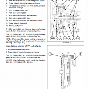 New Holland T4.75f, T4.85f, T4.95f, T4.105f Tractor Service Manual