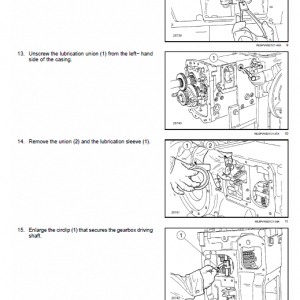 New Holland T4.75v, T4.85v, T4.95v, T4.105v Tractor Service Manual