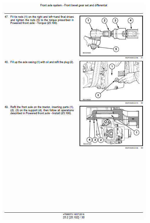 New Holland T4.75n, T4.85n, T4.95n, T4.105n Tractor Service Manual
