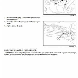 New Holland Td65f, Td75f, Td85f Tractor Service Manual