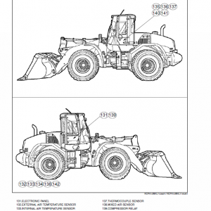 New Holland W170c Tier 4 Wheel Loader Service Manual