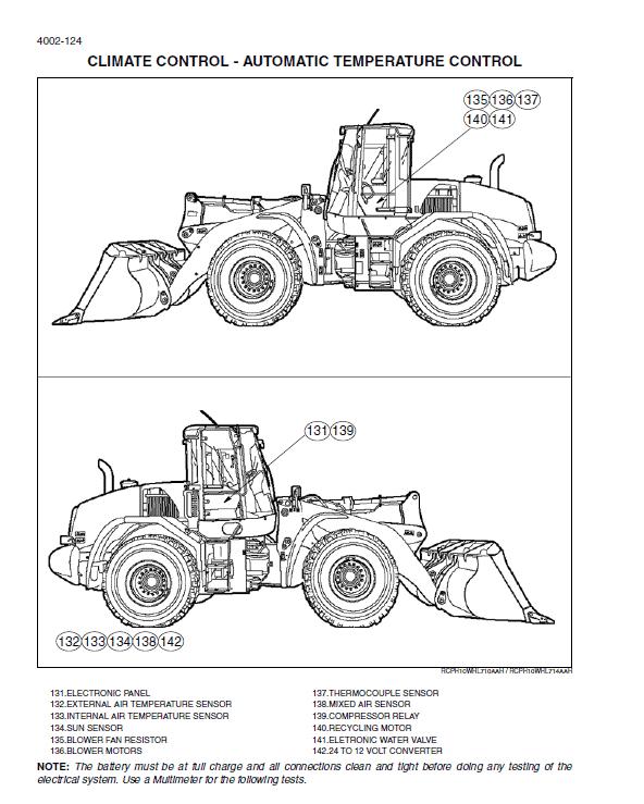 New Holland W170c Tier 4 Wheel Loader Service Manual