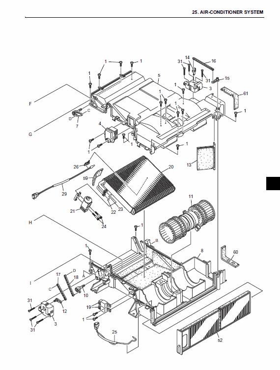 New Holland E265b, E265blc Excavator Service Manual