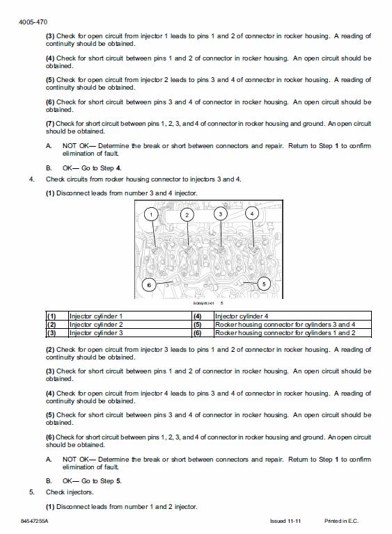 New Holland W270c, W300c Wheel Loader Service Manual