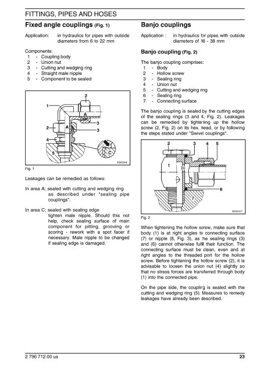 New Holland Ec270 Crawler Excavator Service Manual