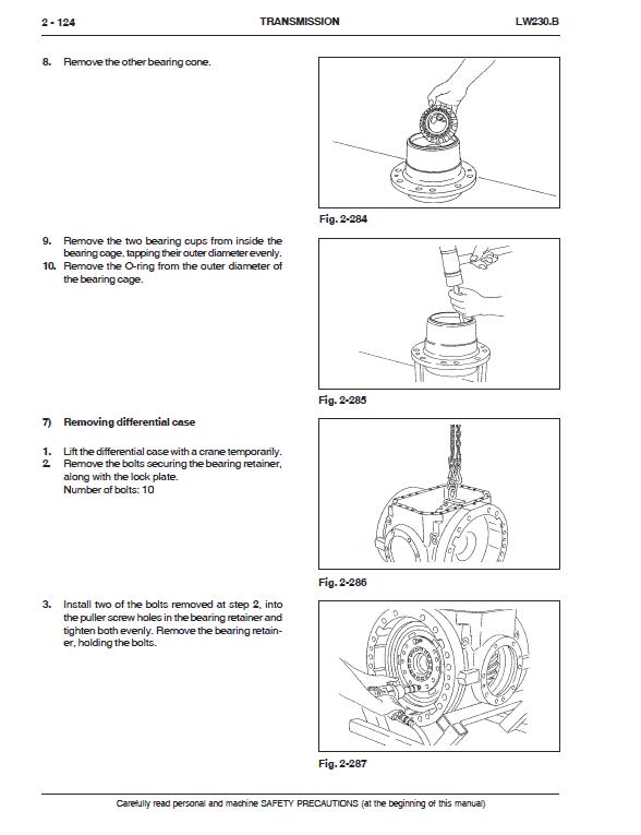 New Holland Lw230.b Wheel Loader Service Manual