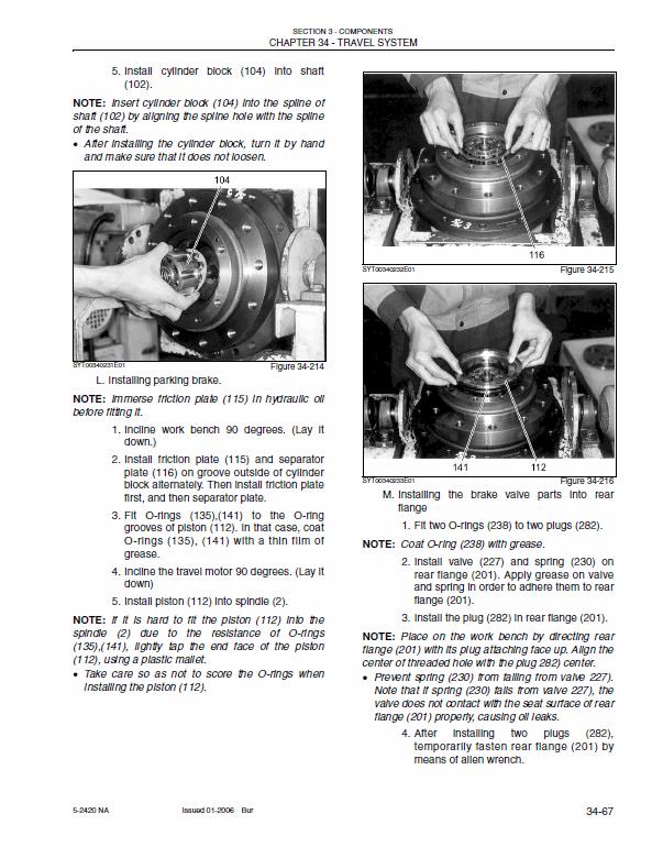 New Holland E80 Midi Crawler Excavator Service Manual