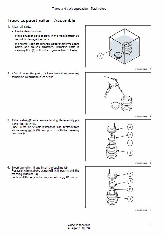 New Holland E215c Evo Excavator Service Manual