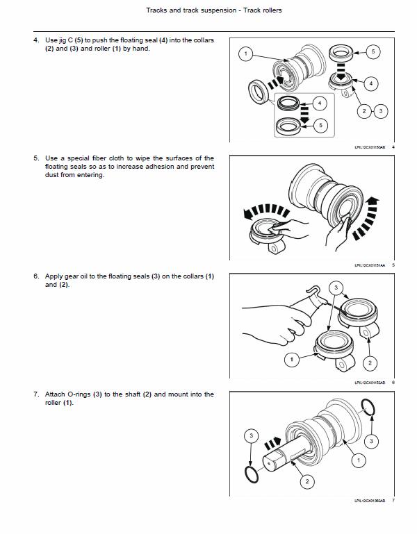 New Holland E245c Evo Excavator Service Manual