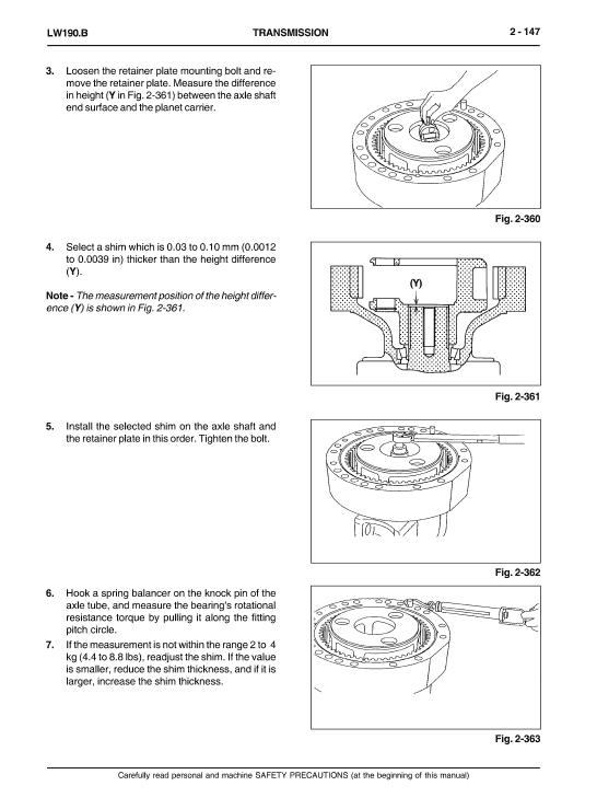 New Holland Lw190.b Wheel Loaders Service Manual