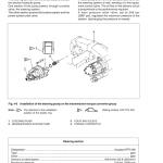 New Holland Lw270.b Wheel Loader Service Manual