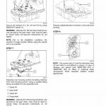 New Holland W190c Tier 2 Wheel Loader Service Manual