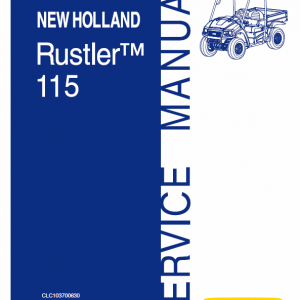 New Holland 115 Rustler Service Manual