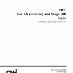 NEF Tier 4A Interim and Stage IIIB Engine Service Manual