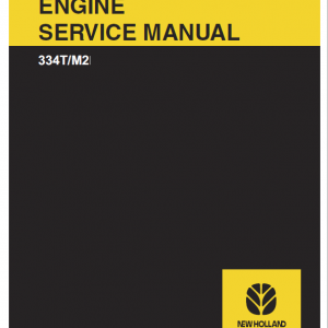 New Holland F4CE0354A 334T M2 Engine Service Manual