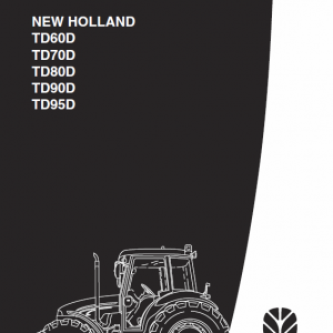 New Holland Td60d, Td70d, Td80d, Td90d, Td95d Tractor Service Manual