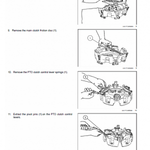 New Holland Td4.70f, Td4.80f, Td4.90f Tractor Service Manual