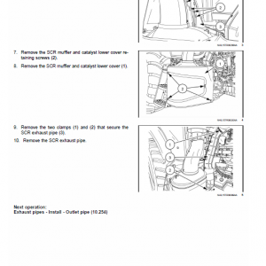 New Holland Ts6.110, Ts6.120, Ts6.125, Ts6.140 Tractor Service Manual