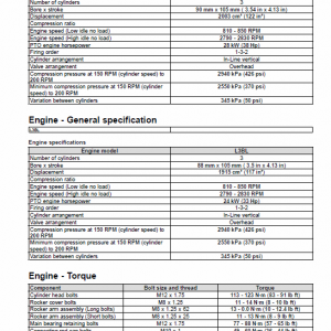 Cnh L3al, L3bl Tier 3 Engine Service Manual