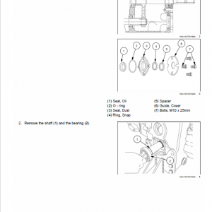 New Holland Workmaster 33 And 37 Tractor Service Manual