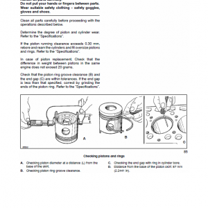 New Holland Tn60sa, Tn70sa, Tn75sa Tractor Service Manual
