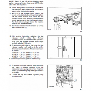 New Holland Tn60va, Tn75va, Tn95va Tractor Service Manual