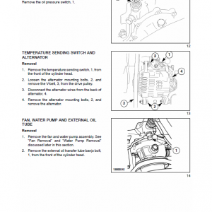 New Holland Tc29da, Tc33da Tractor Service Manual