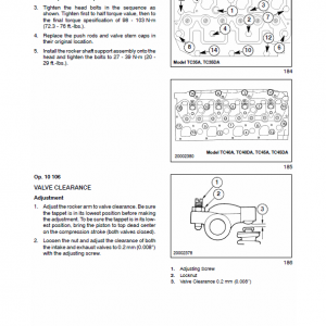 New Holland Tc35a, Tc35da, Tc40a Tractor Service Manual