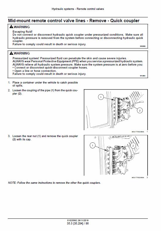 New Holland T4.80f, T4.90f, T4.100f, T4.110f Tractor Service Manual