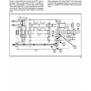 New Holland Tc29d, Tc33d Tractor Service Manual