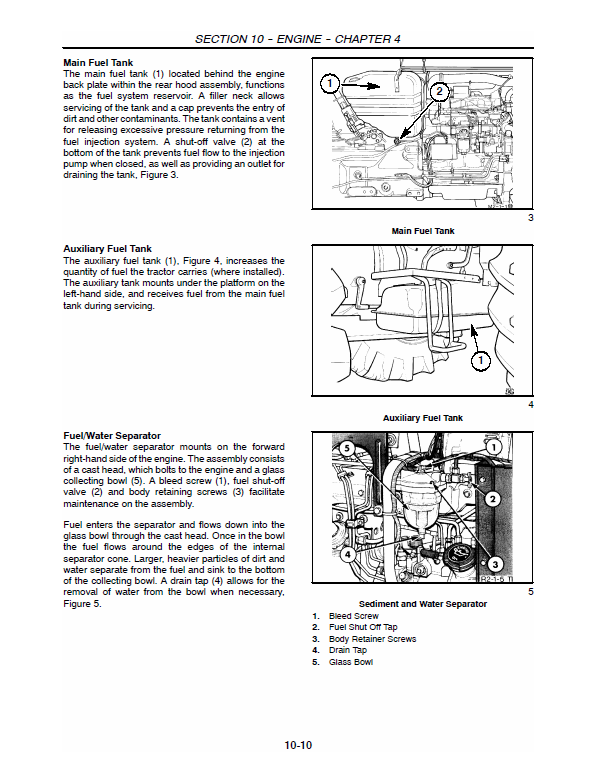 New Holland 5610s, 6610s, 7610s, 7010 Tractor Service Manual