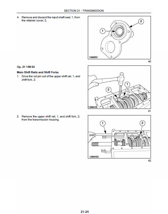 New Holland Tc35d, Tc40d, Tc45d Tractor Service Manual