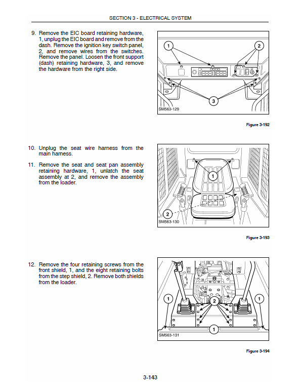 New Holland L565, Lx565, Lx665 Skidsteer Loader Service Manual