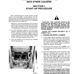 New Holland L35, L775, L778, L779 Skidsteer Service Manual