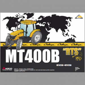 Challenger MT465B, MT475B Tractor Manual