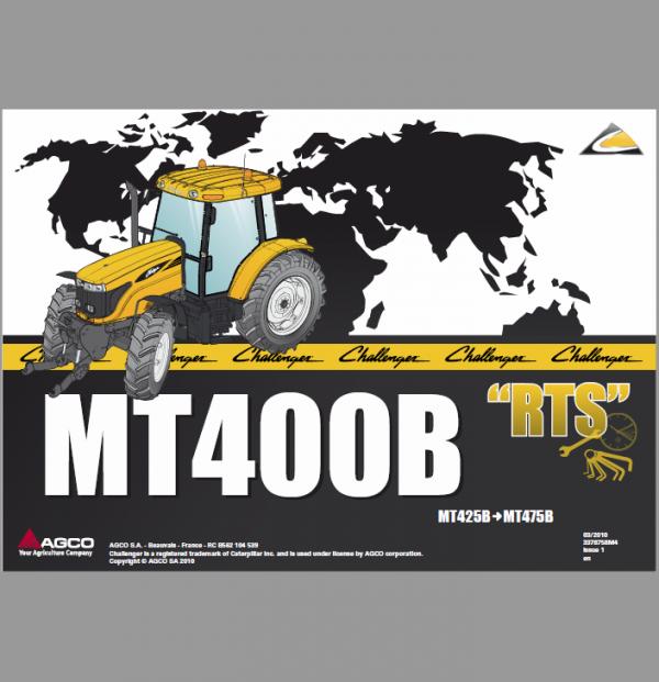 Challenger MT465B, MT475B Tractor Manual