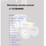 Challenger MT425B, MT445B, MT455B Tractor Workshop Manual