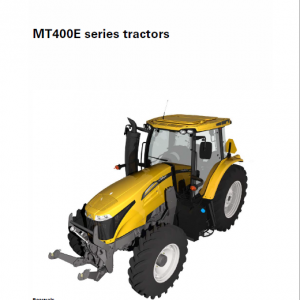 Challenger MT485E, MT495E Tractor Manual