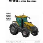 Challenger MT645E, MT655E, MT665E, MT675E, MT685E Tractor Workshop Manual